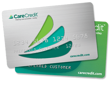 Dentist accepts CareCredit financing