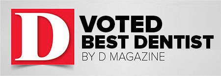 Voted Best Dentist by D Magazine